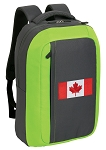 Canada SLEEK Laptop Backpack Green