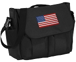 American Flag Diaper Bag