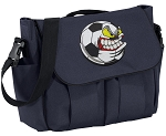 Soccer Fan Diaper Bag Navy