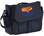 Arizona Flag Diaper Bag Navy