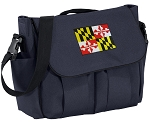 Maryland Diaper Bag Navy