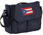 Puerto Rico Diaper Bag Navy