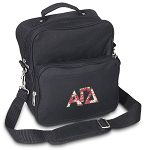Alpha Gamma Small Utility Messenger Bag or Travel Bag