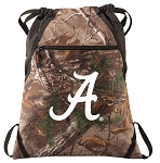 University of Alabama RealTree Camo Cinch Pack