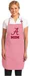 Deluxe University of Alabama Mom Apron Pink - MADE in the USA!