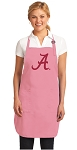 University of Alabama Apron Pink