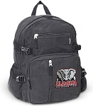 Alabama Canvas Backpack Black