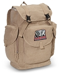 Alabama LARGE Canvas Backpack Tan