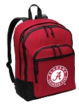 Alabama Backpack CLASSIC STYLE Red