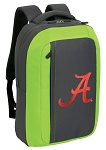 University of Alabama SLEEK Laptop Backpack Green