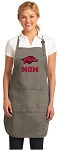 Official Arkansas Razorbacks Mom Apron Tan