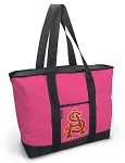Deluxe Pink Arizona State University Tote Bag
