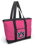 Deluxe Pink Auburn University Tote Bag