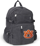 Auburn Canvas Backpack Black