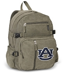 Auburn Canvas Backpack Olive