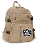 Auburn Canvas Backpack Tan