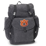 Auburn LARGE Canvas Backpack Black
