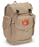 Auburn LARGE Canvas Backpack Tan