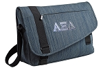 Alpha Xi Messenger Laptop Bag Stylish Navy