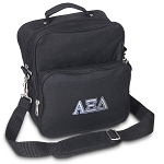 Alpha Xi Small Utility Messenger Bag or Travel Bag