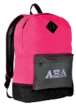 AZD Sorority Backpack HI VISIBILITY Alpha Xi CLASSIC STYLE For Her Girls Women