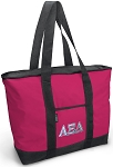 Deluxe Pink Alpha Xi Tote Bag
