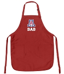 University of Arizona Dad Aprons Red