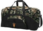 Official Arizona State Camo Duffel Bags