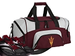 Arizona State Small Duffle Bag Maroon