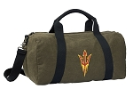 Arizona State Duffel RICH COTTON Washed Finish Khaki