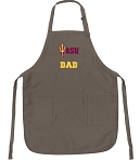 Official Arizona State Dad Apron Tan