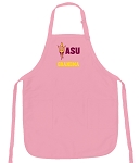 Deluxe ASU Grandma Apron Pink - MADE in the USA!