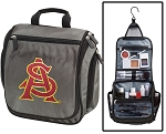 Arizona State University Toiletry Bag or ASU Shaving Kit Gray