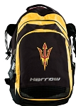 Arizona State Harrow Field Hockey Lacrosse Backpack Bag Yellow