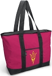 Deluxe Pink Arizona State Tote Bag