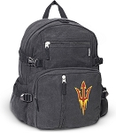 Arizona State Canvas Backpack Black