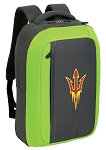 Arizona State SLEEK Laptop Backpack Green