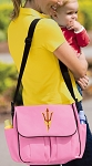 Arizona State Diaper Bag Pink