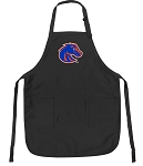 Official Boise State Apron Black