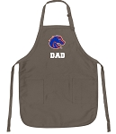 Official Boise State University Dad Apron Tan