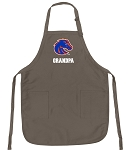 Official Boise State University Grandpa Apron Tan