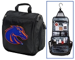 Boise State University Toiletry Bag or Boise State Broncos Shaving Kit Travel Organizer for Men