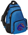 Boise State Backpack Cross Body Style Blue