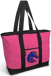 Deluxe Pink Boise State University Tote Bag