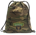Baylor Drawstring Backpack Green Camo