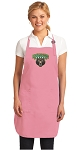 Deluxe Baylor University Apron Pink - MADE in the USA!