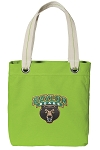 Baylor Tote Bag RICH COTTON CANVAS Green
