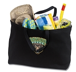 Baylor Jumbo Tote Bag Black