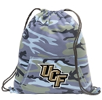 UCF Drawstring Backpack Blue Camo