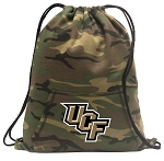 UCF Drawstring Backpack Green Camo